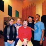 New York Studio System Two 1998  ; da sin  Gary Smulyan, Adam Nussbaum, Riccardo Fassi, Dennis Irwin, Brian Carrott
